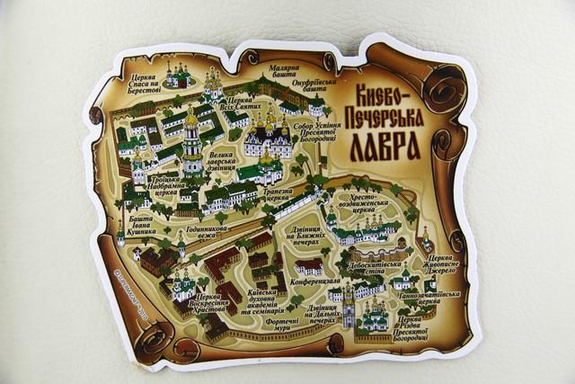 Магнит Карта 4237